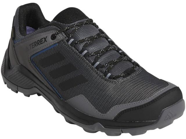 adidas TERREX Eastrail Gore-Tex Zapatillas Senderismo Resistente al Agua Hombre, grey four/core black/grey three